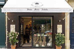 Une boutique Santa Maria Novella à Paris