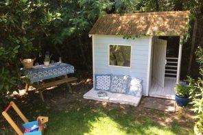 Rêve d'enfant, la cabane en bois
