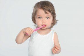 Le brossage des dents des 0-3 ans