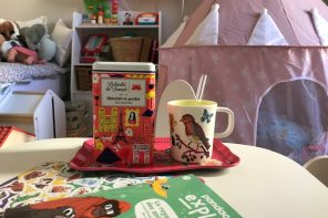 Gouter: chocolat chaud et pandacraft